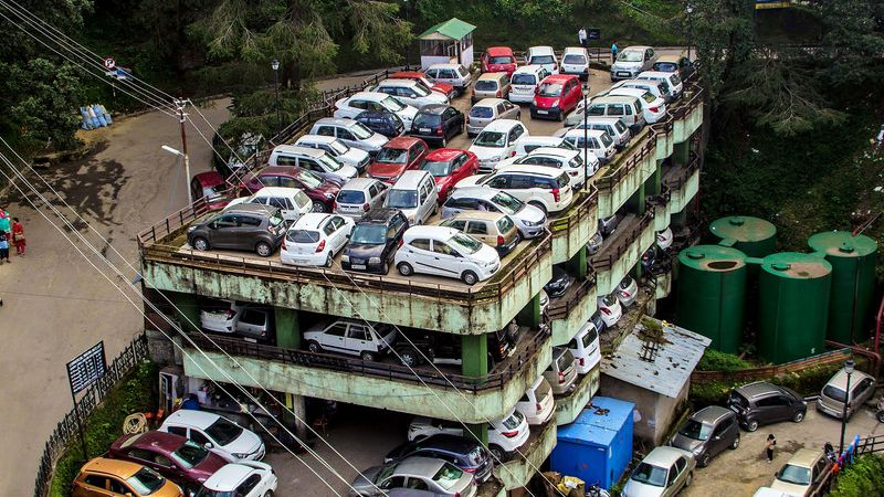 Multi Storey Parking in Shimla